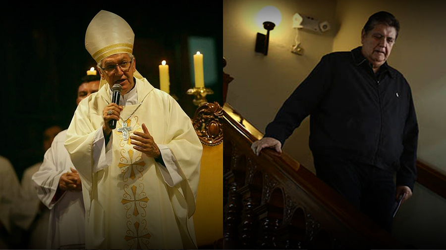 Perú: Arzobispo de Lima asegura que el Señor recibirá en los cielos a Alan García