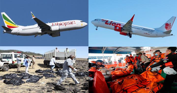 Boeing admite fallos técnicos en aviones 737 MAX que provocaron cientos de muertes