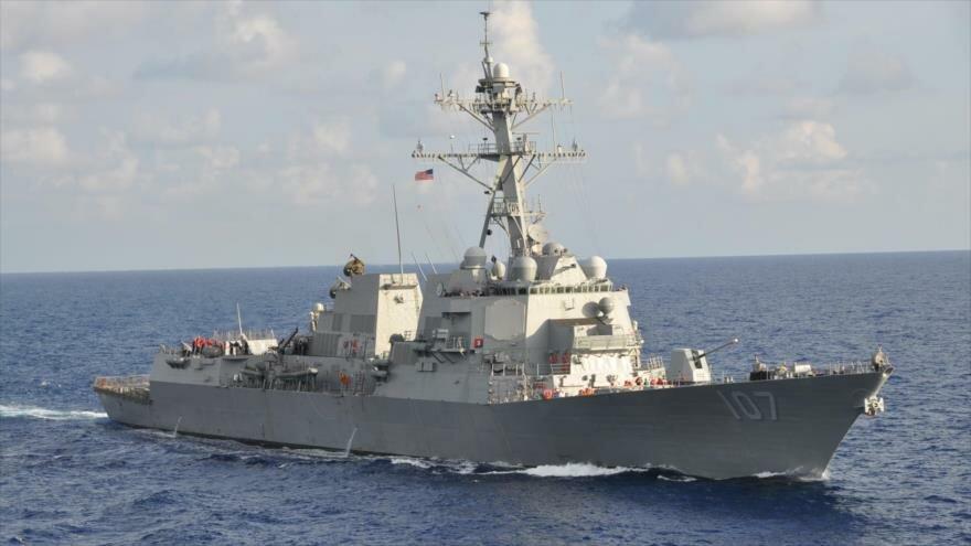 Fuerte tensión en el mar báltico entre buques rusos y un grupo naval de la OTAN