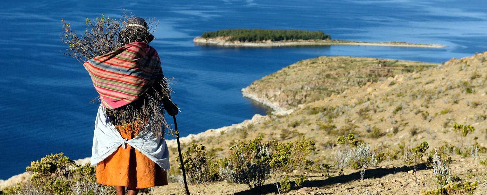 Es descubierta en el lago Titicaca una civilización anterior a los incas