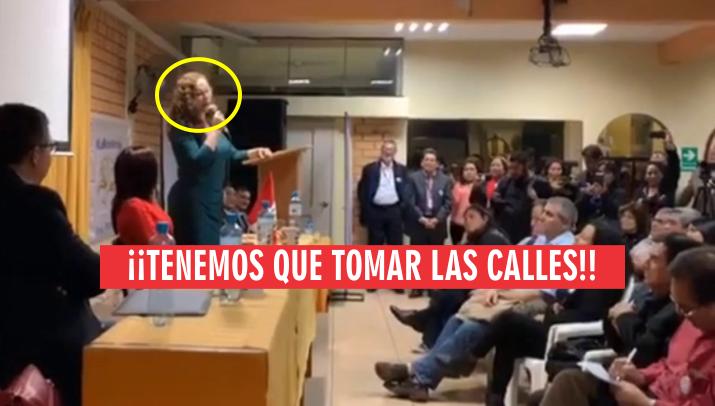 Marco Arana pide investigar a Rosa Bartra por ataque de radicalizados fujimorista a Vargas Llosa. VIDEO