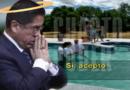 Ex juez César Hinostroza hace las pases con Dios y se bautiza en iglesia cristiana. VIDEO