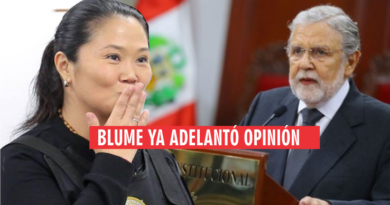 Advierten que el presidente del Tribunal Constitucional liberará a Keiko Fujimori. VIDEO