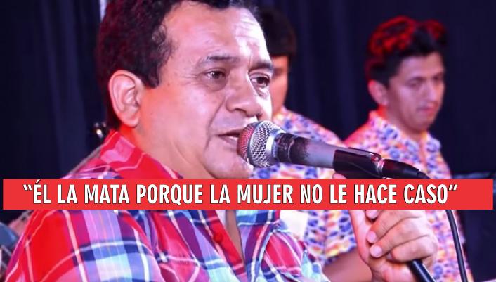Tras polémicas declaraciones piden abrir investigación a cantante Tony Rosado por apología al femicidio. VIDEO