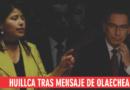Indira Huilca a Vizcarra 'tome la sartén por las manos y cierre el Congreso de una buena vez'.