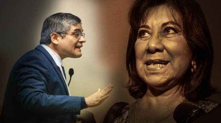 Martha Chávez arremetió