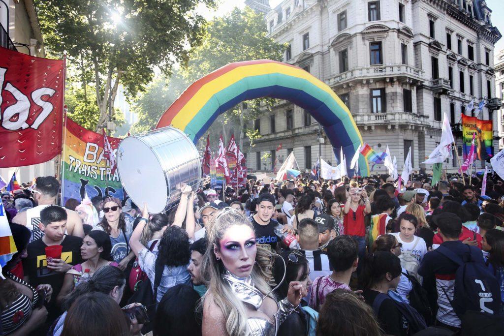 Marcah del Orgullo en Buenos Aires