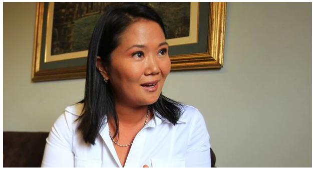 Keiko Fujimori insiste en que es perseguida políticamente y sin RAZON