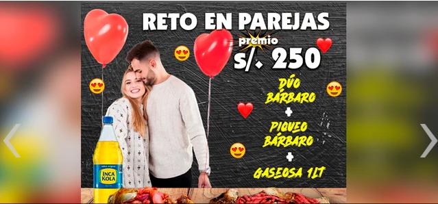 Restaurante peruano regalará S/250 a pareja que devore su 'megasalchipapa'