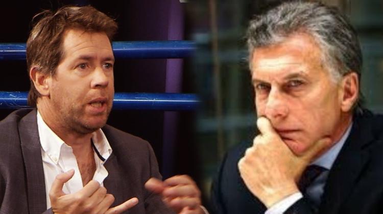 vocero de Fernández cruzó a Macri