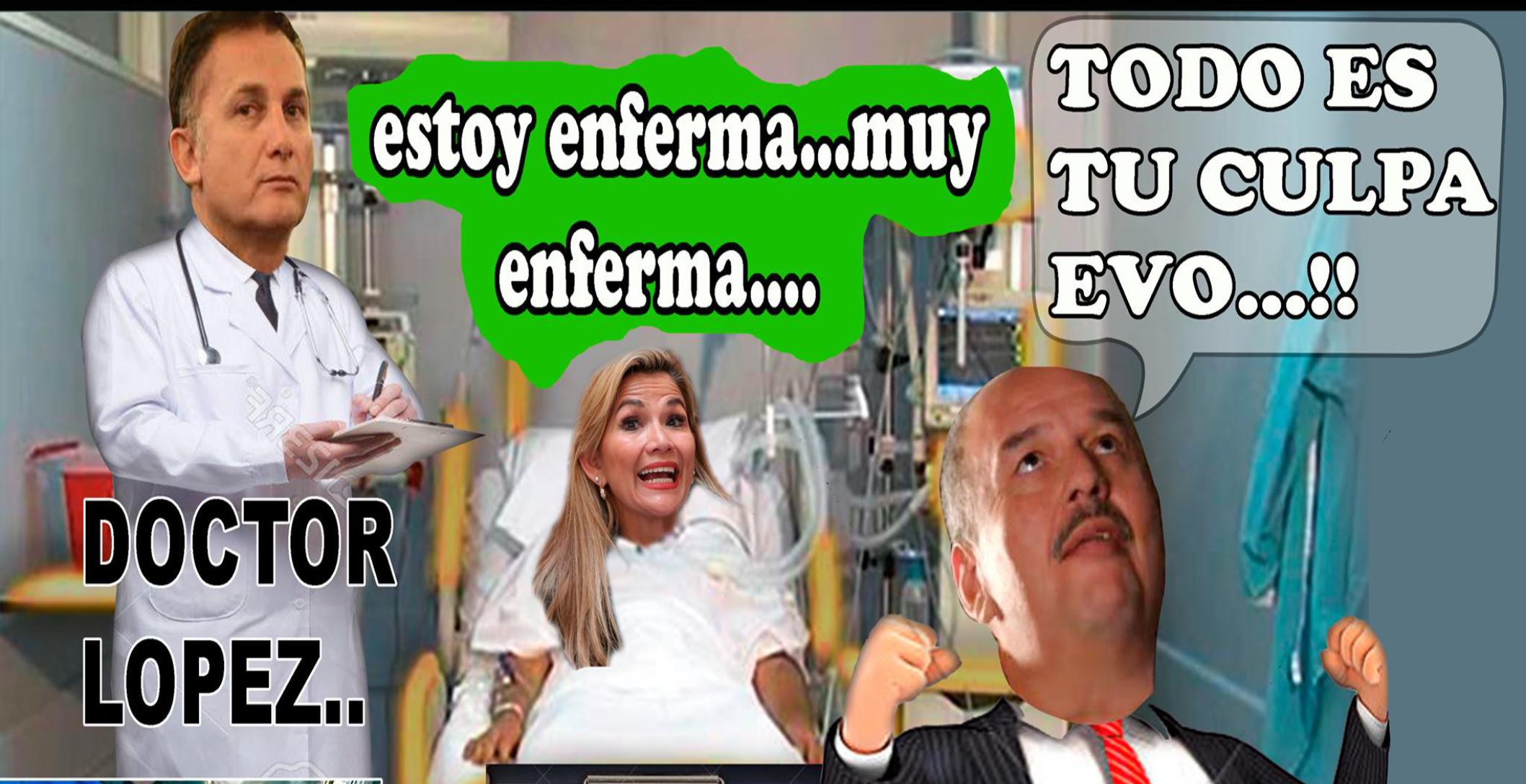 presidenta Áñez tiene coronavirus
