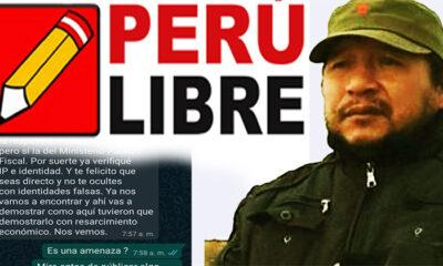 Marco Antonio Ramos Velasquez-Perú Libre Argentina